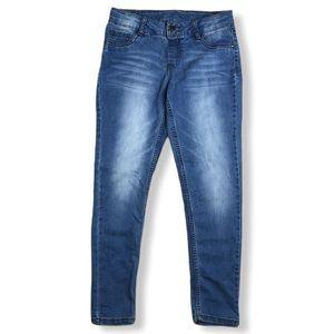 TOTAL GIRL Blue Jeans Skinny Leg Size 12 Regular